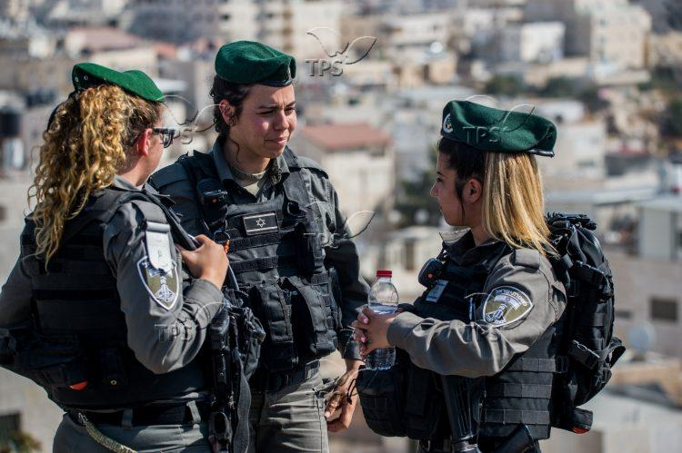 Border Police Soldiers during an Action in East Jerusalem