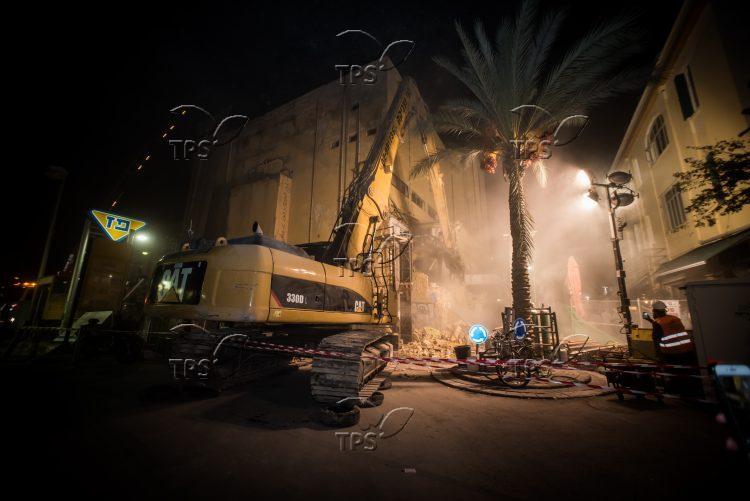 Alenbi cinema in Tel Aviv was demolished