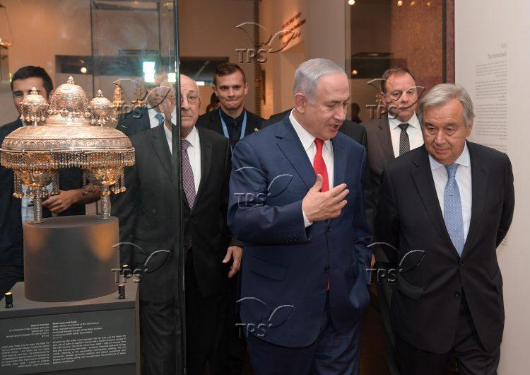 Netanyahu andUNSG