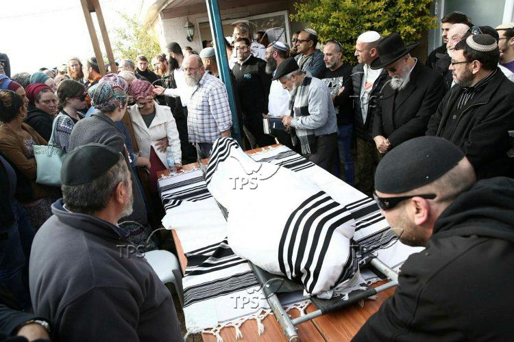 Funeral of Rabbi Raziel Shevach ZL