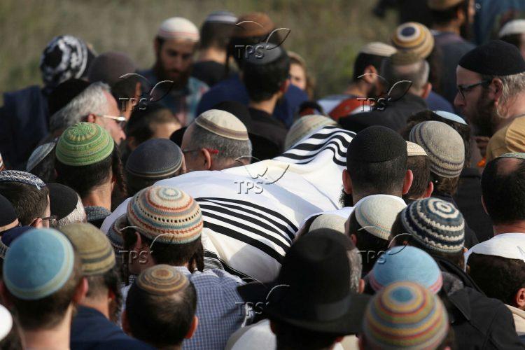 Funeral of Rabbi Raziel Shevach ZL