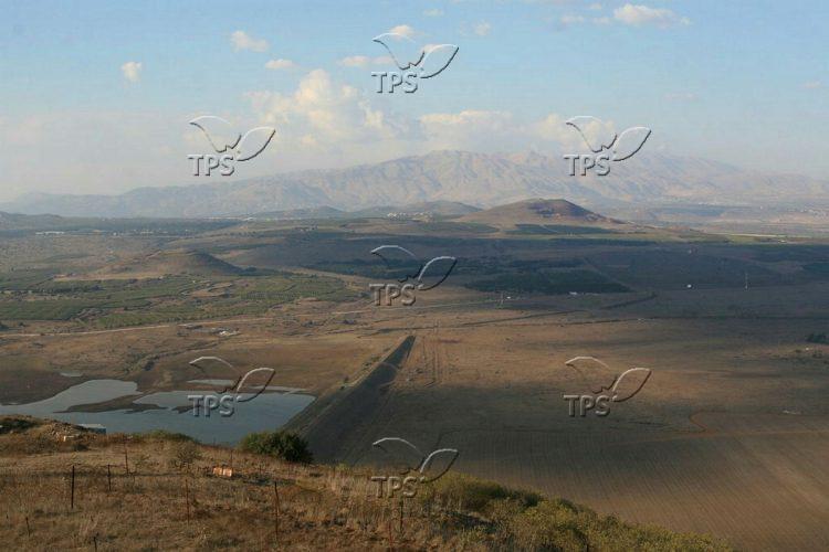 Hermon Mount and Israli-Lebanese border