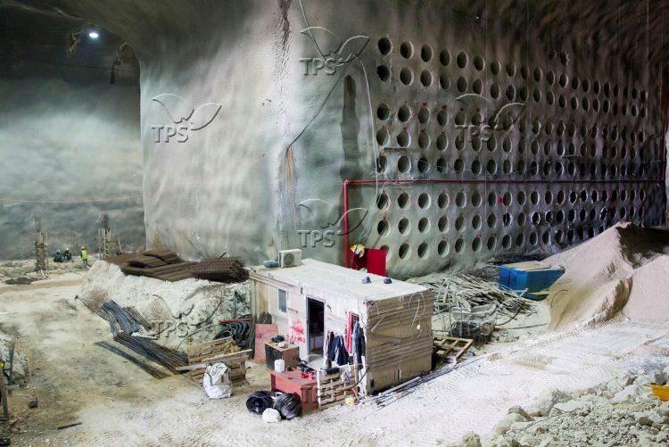 Underground catacomb system for burying in Jerusalem