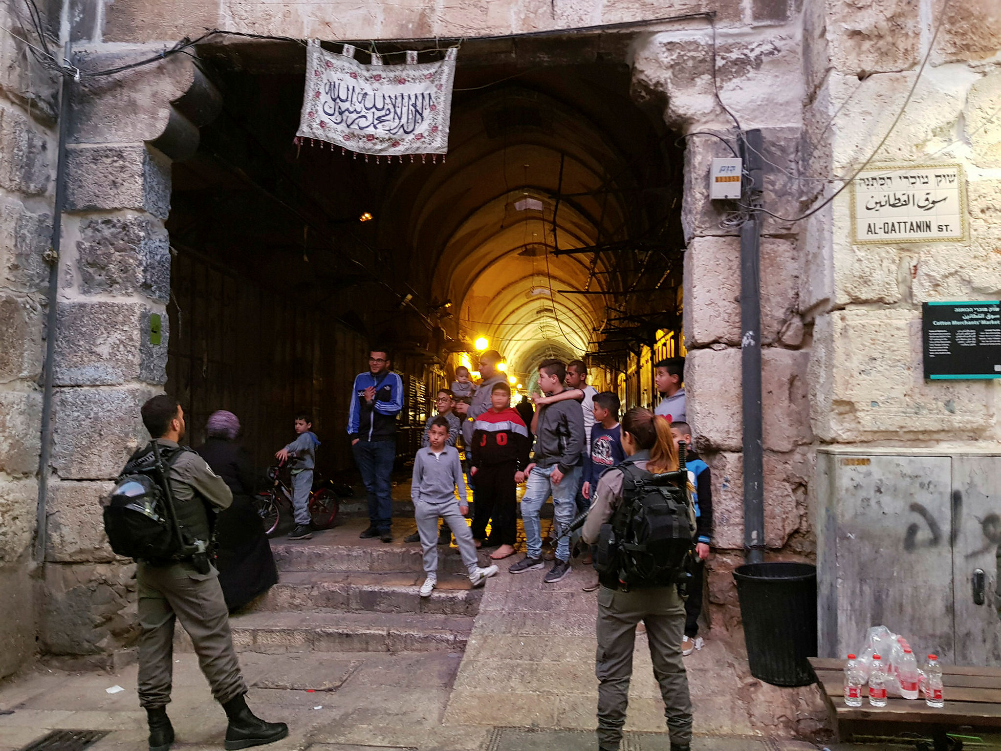 Stabbing Attack near Lions Gate, Old City of Jerusalem
