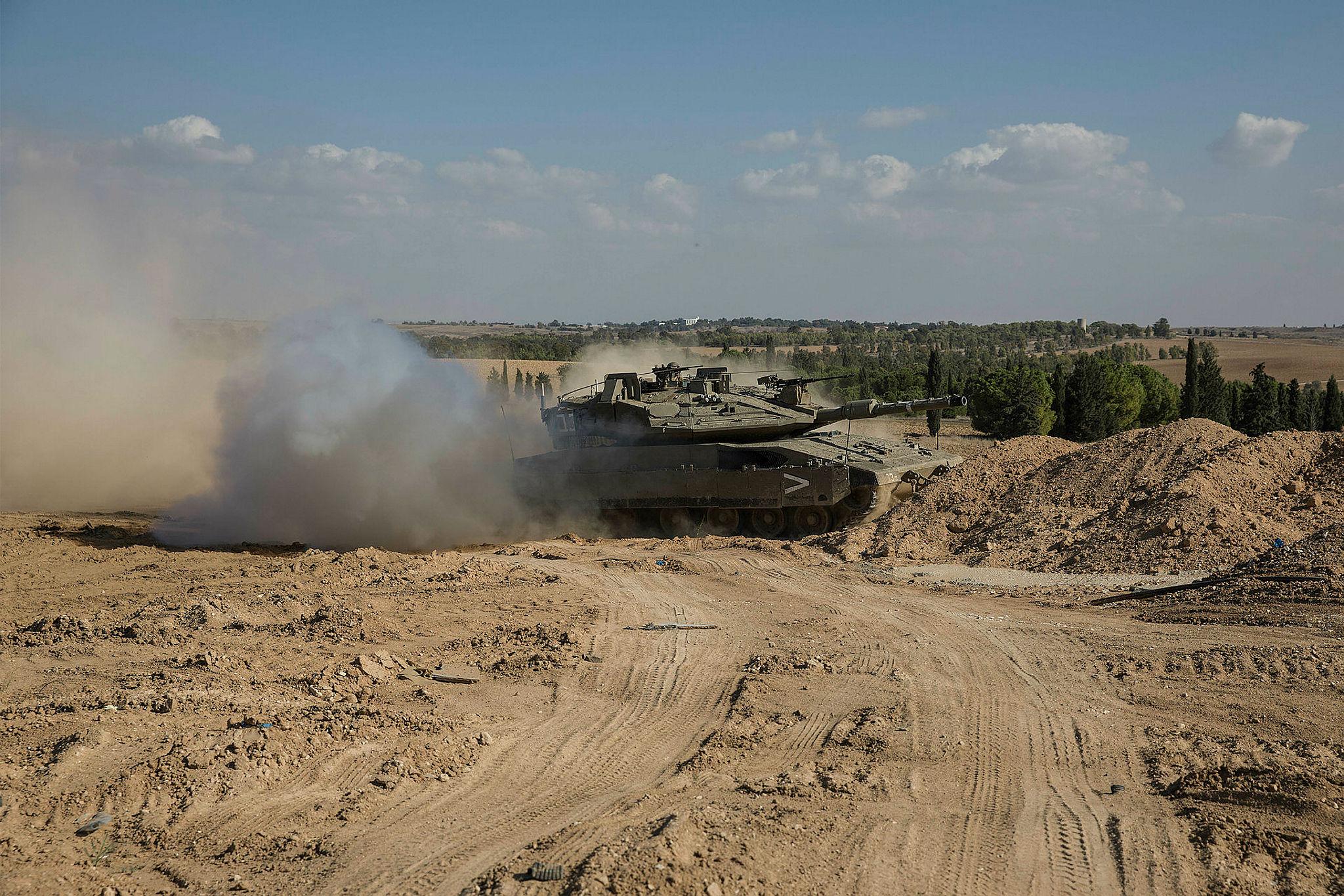 Israel Gaza border