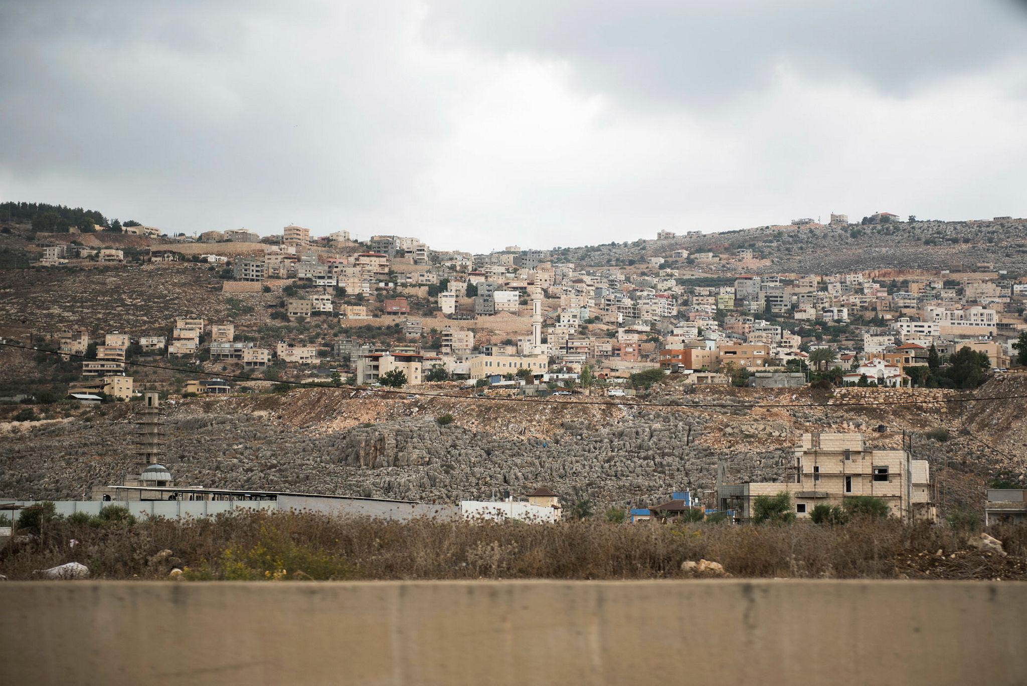 Arab town Majd al-Krum in the Upper Galilee