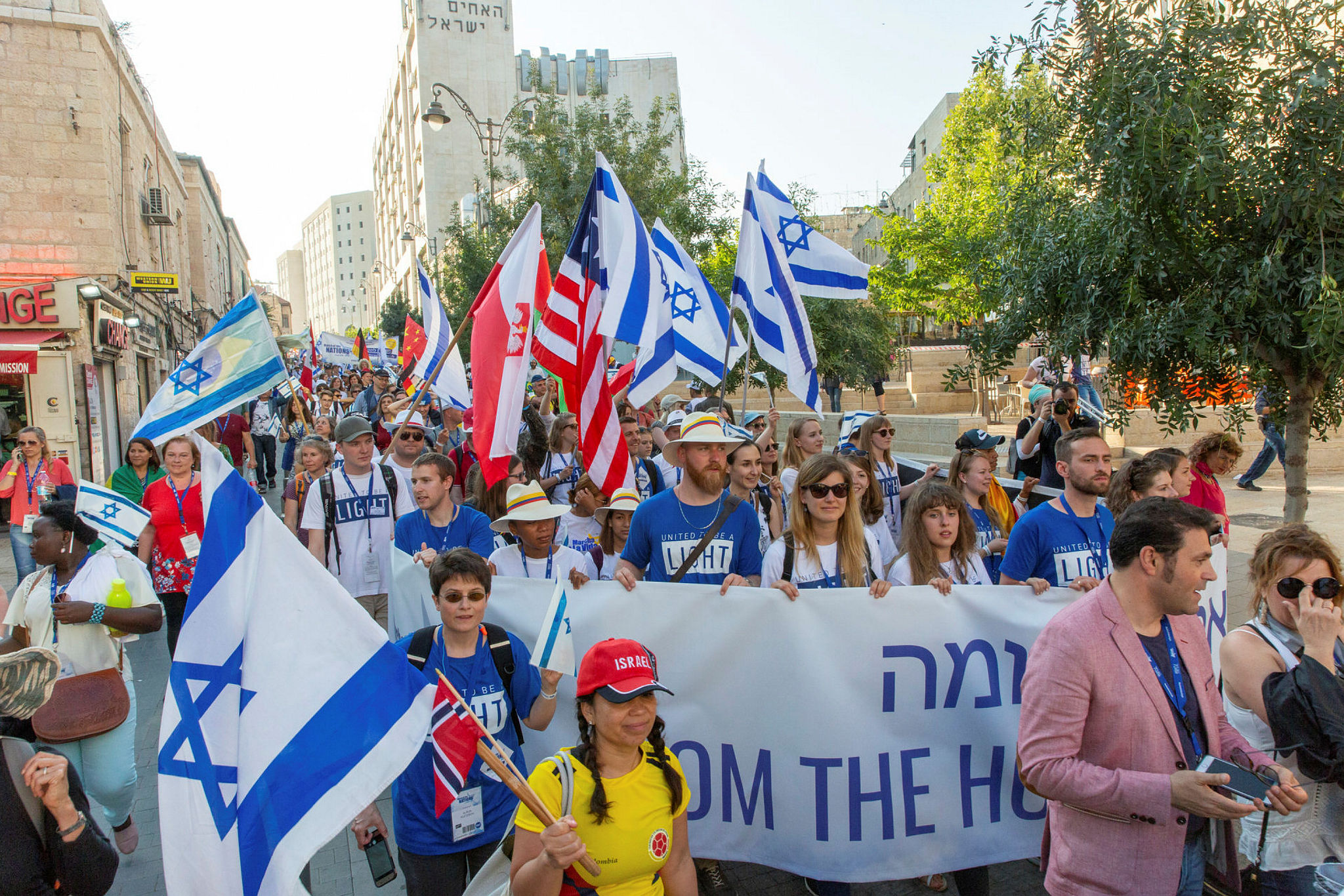 The March of the Nations 2018 in Jerusalem