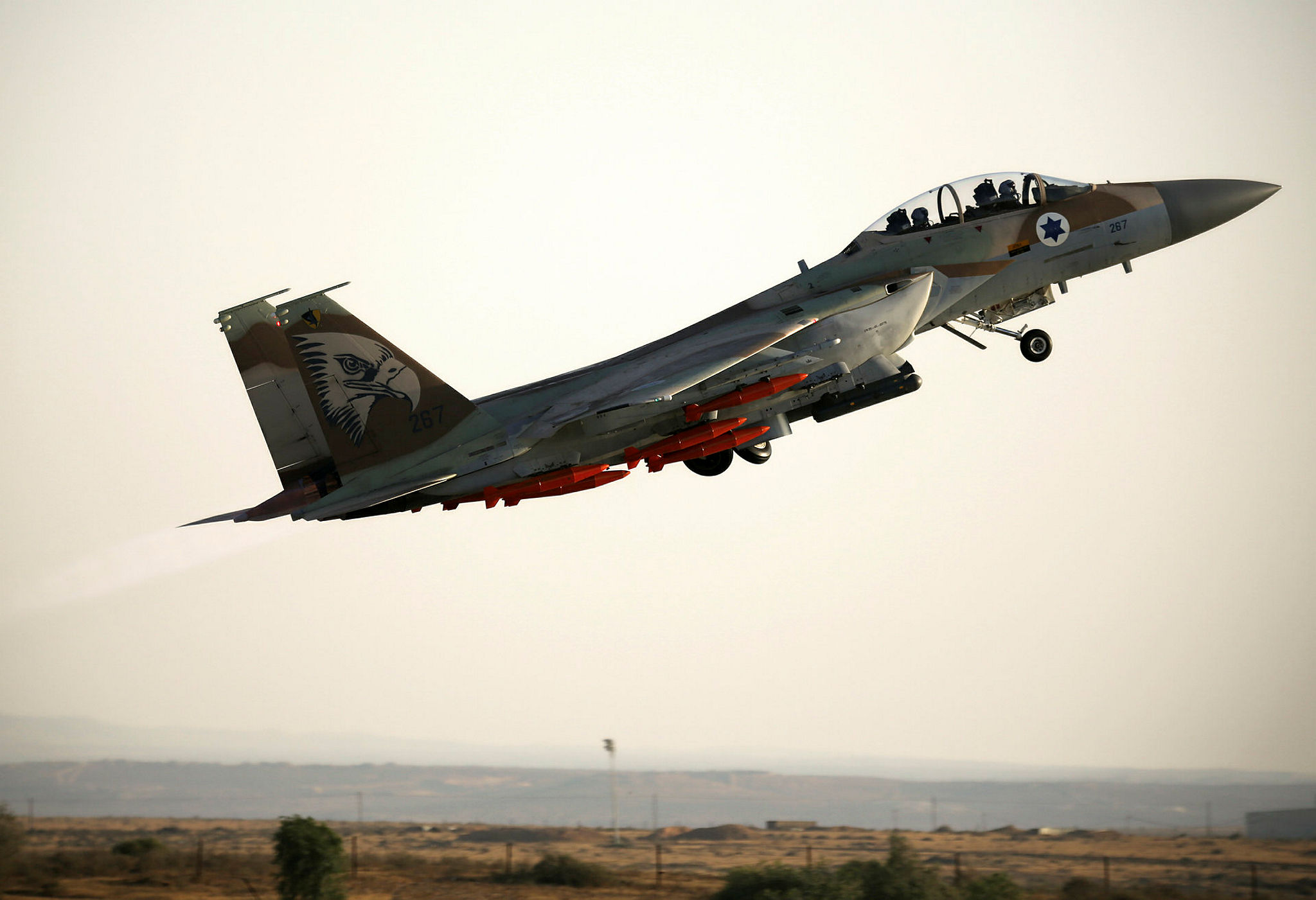 Israeli pilots course graduation