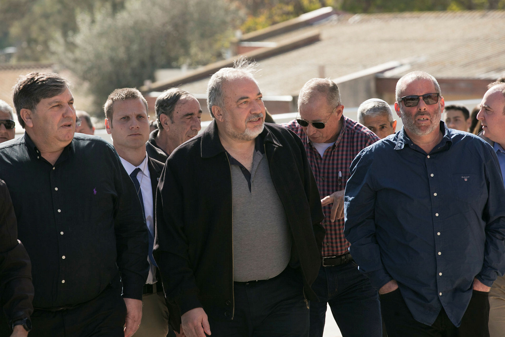 Tree Planting in Kfar Aza with Minister of Defense Liberman