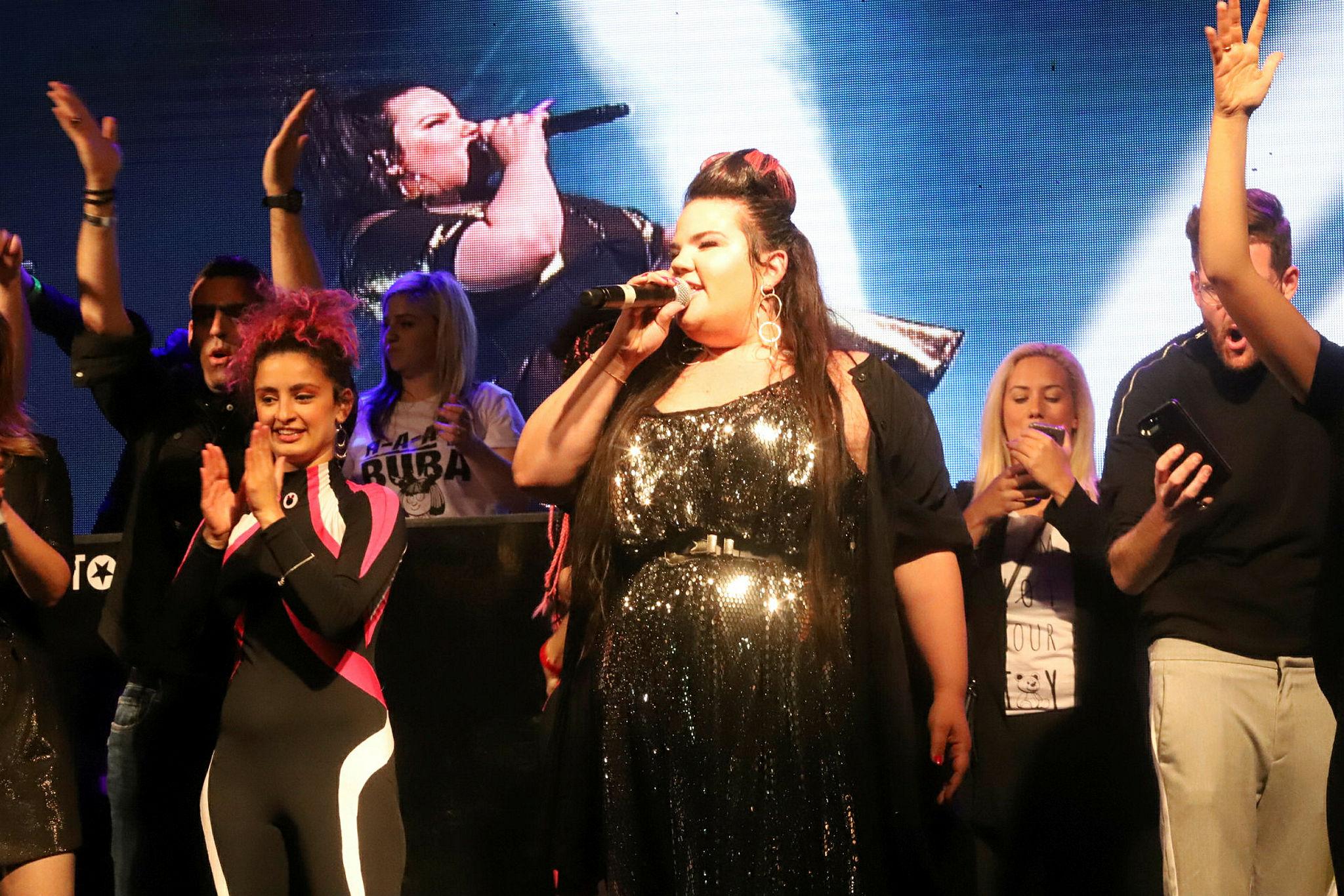 Netta Barzilai, the winner of the 2018 Eurovision Song Contest