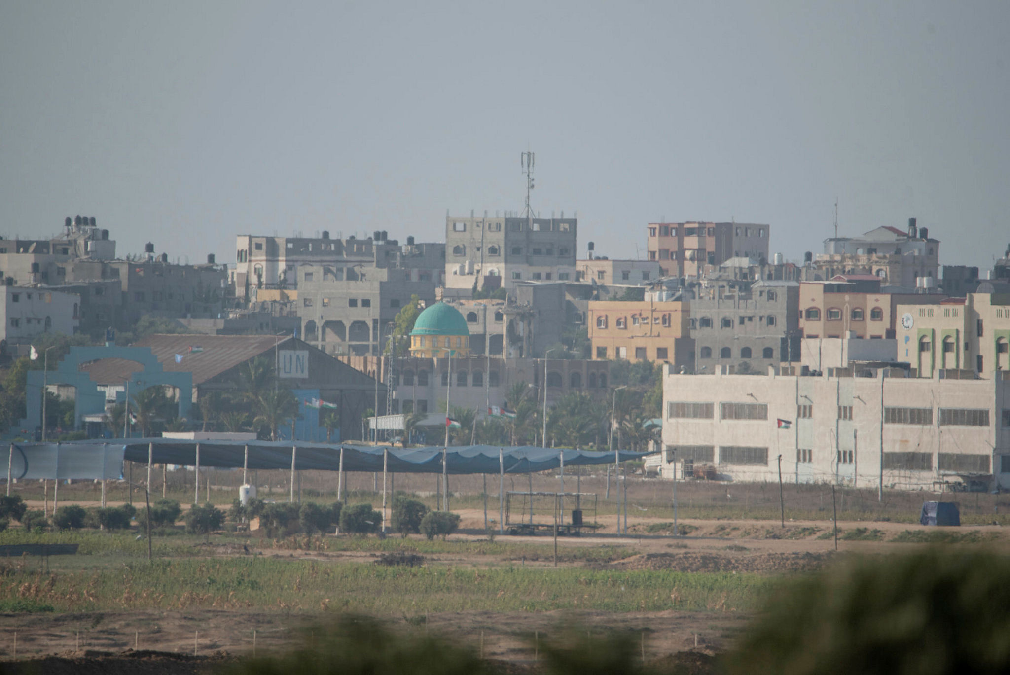 A view on Gaza