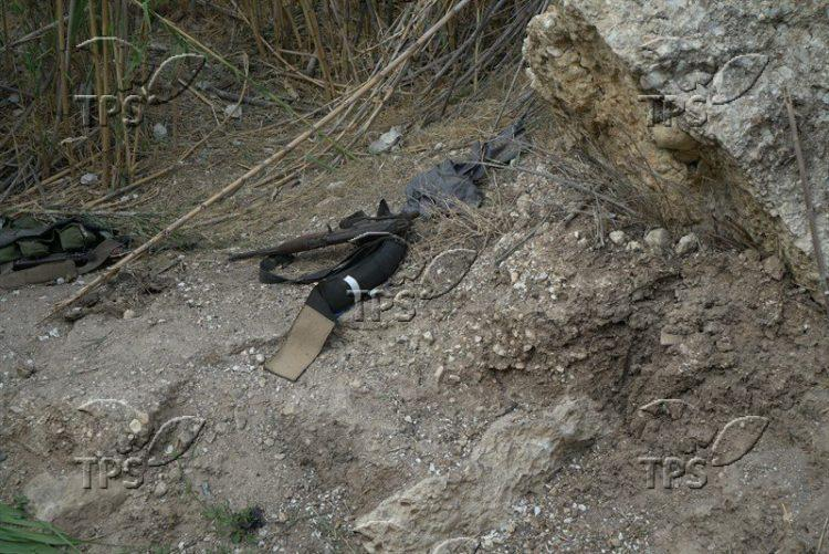 Suicide vest and assault riffle discovered on scene where IDF struck ISIS force