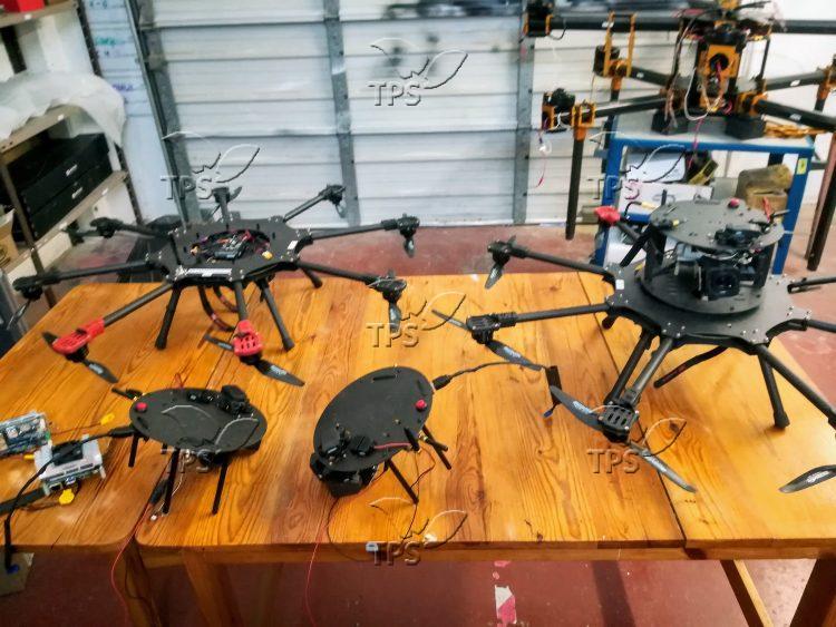 Prototypes of anti-kite drones deployed on Gaza border