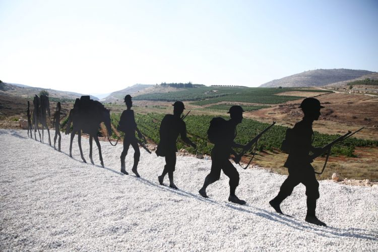 New memorial for soldiers who fought for the Jewish Legion during World War 1 in Binyamin Regional Council