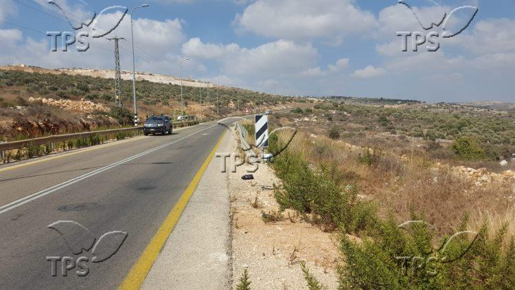 Possible explosive device found on Samaria road