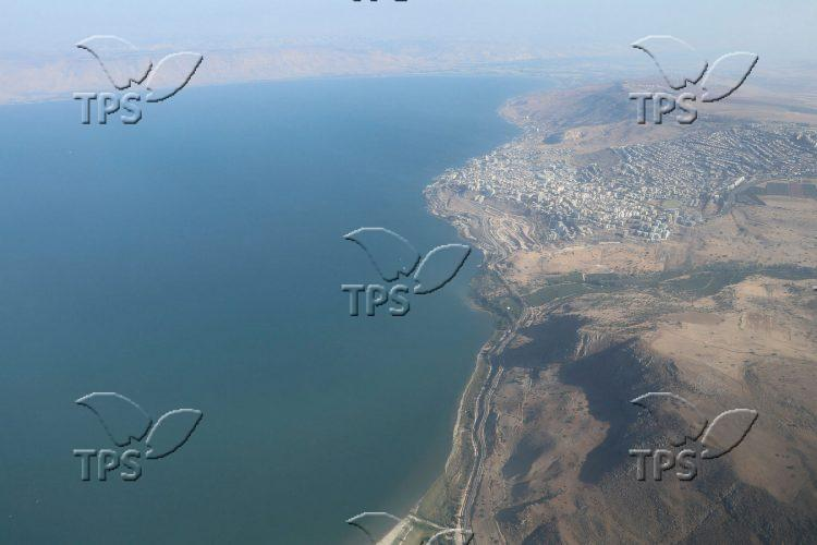 The Sea of Galilee ( Kinneret )