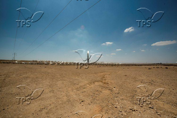 Ashalim solar power station in the Negev