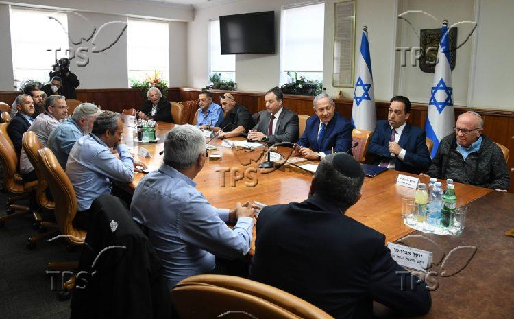 Meeting Judea and Samaria leaders