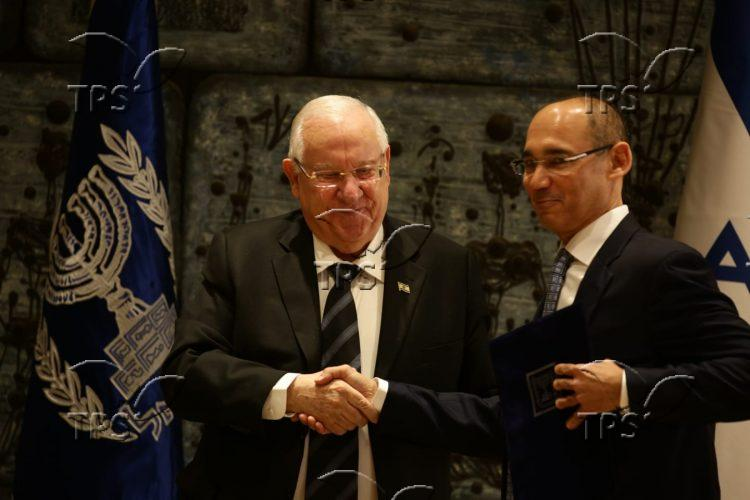 President Rivlin and Chairman Yaron