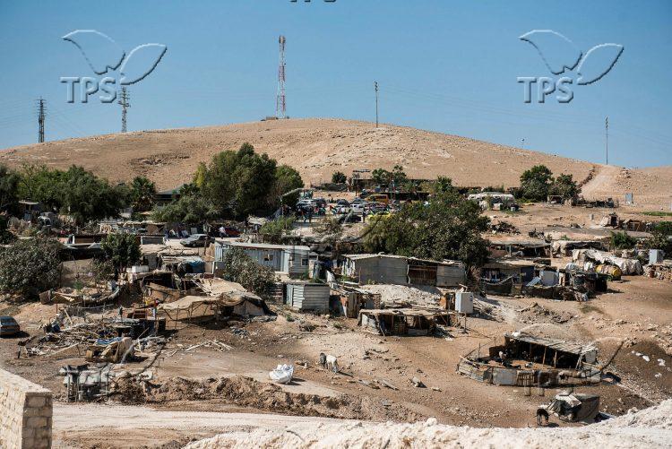 Disturbances in Khan al-Ahmar Village