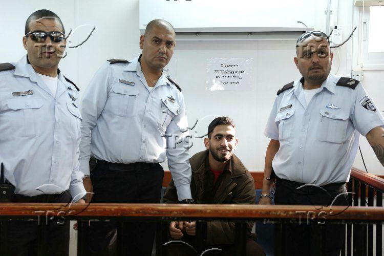 Trial in Ofer Prison, near Jerusalem
