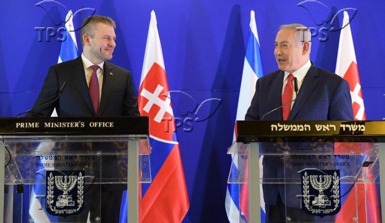 PM Netanyahu & Slovak PM Peter Pellegrini