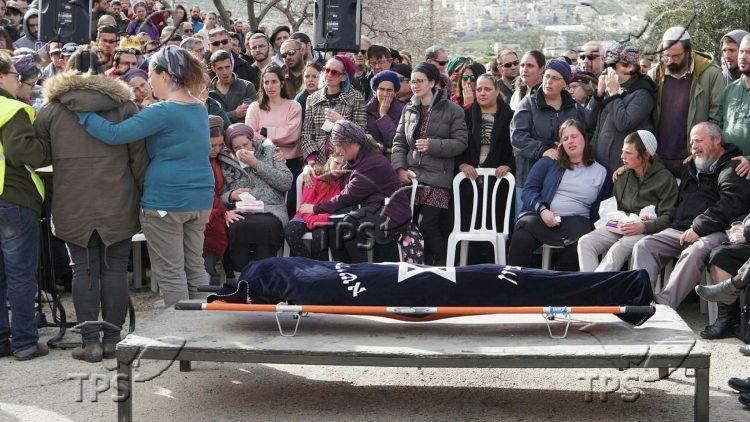 Funeral of 19 year old Ori Ansbacher