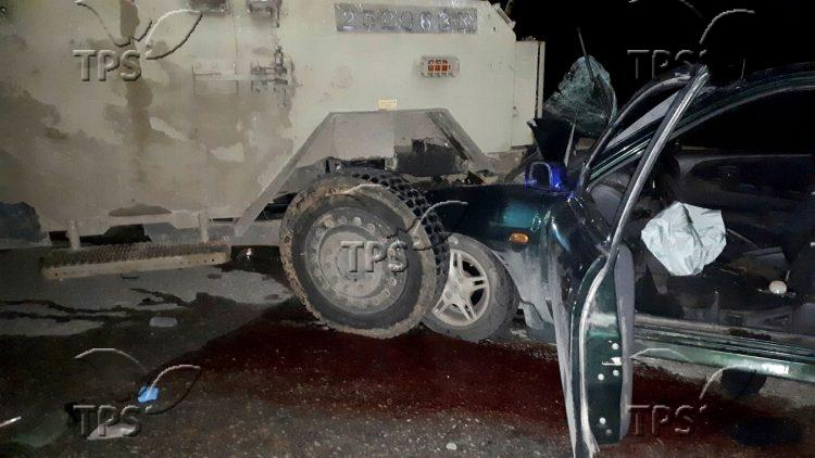 Car Ramming Attack near Dolev