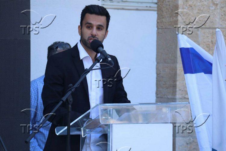 """Enough to Anti Semitism"" rally"