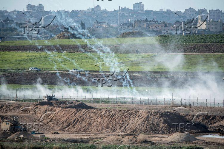 Violent riots on Israel – Gaza border