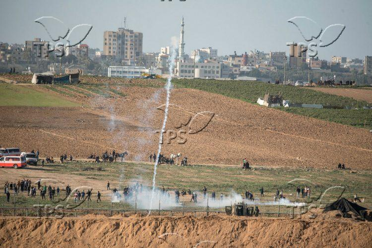 Violent riots on Israel – Gaza border