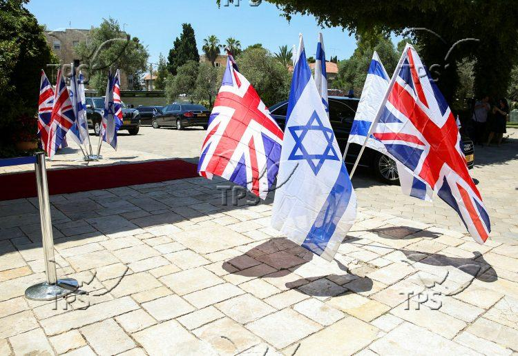 Prince William Visits the Residence of the President of Israel