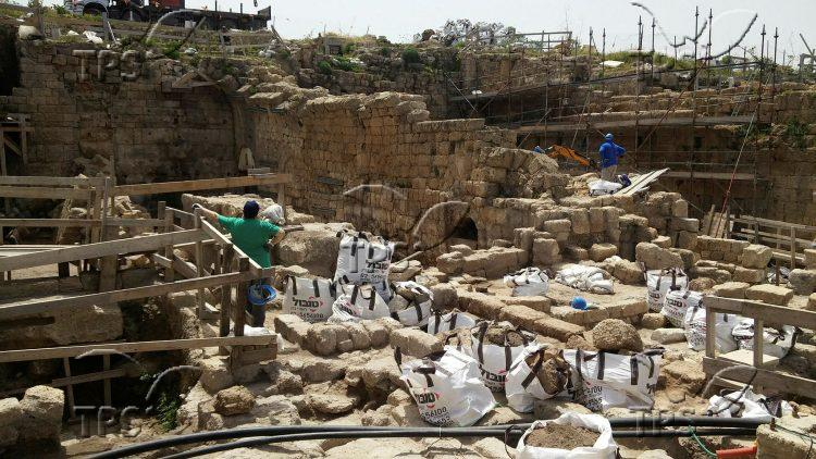 Excavation at Qesaryya