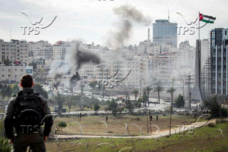 Riot in Ramallah