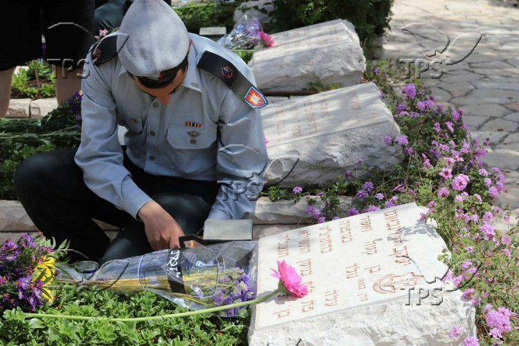 Remembrance day in Kiryat Shaul Cemetery