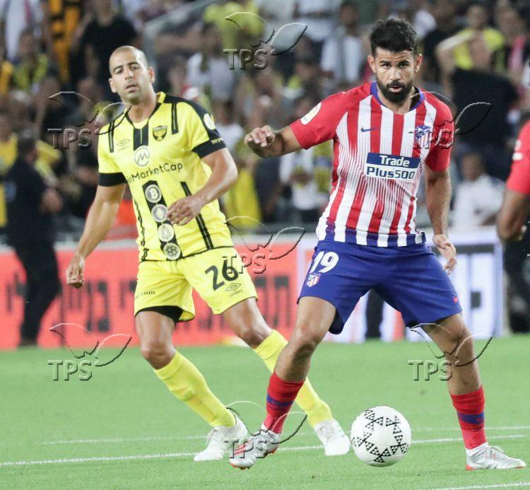 Soccer game between Beitar Jerusalem and Atletico de Madrid