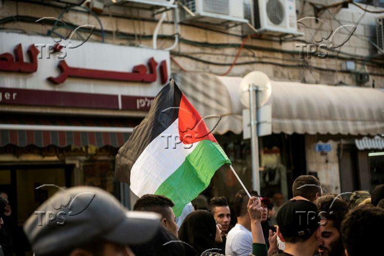 Clashes in Salah al Din Street in East Jerusalem