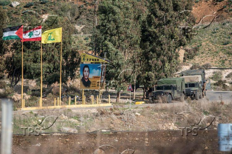 Israel – Lebanon border in northern Israel