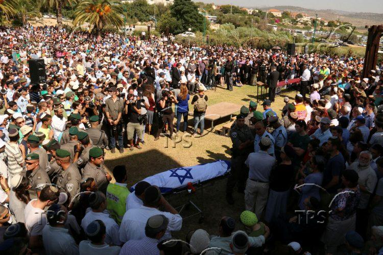 Funeral of three kidnapped Israeli youths
