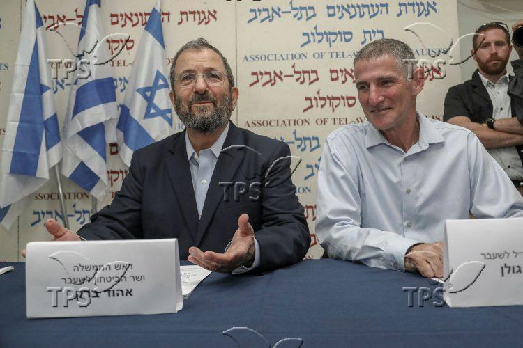 Ehud Barak reveals a new party
