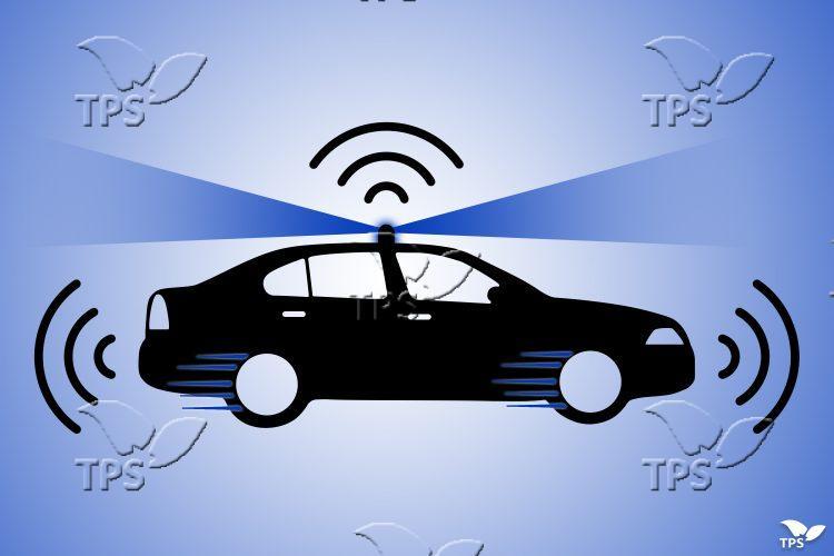 autonomous car graphic