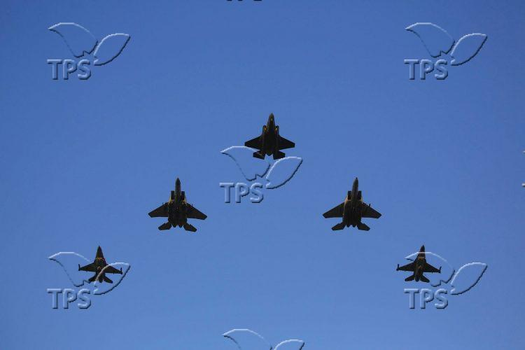 Israel Air Force Commander Replacing Ceremony