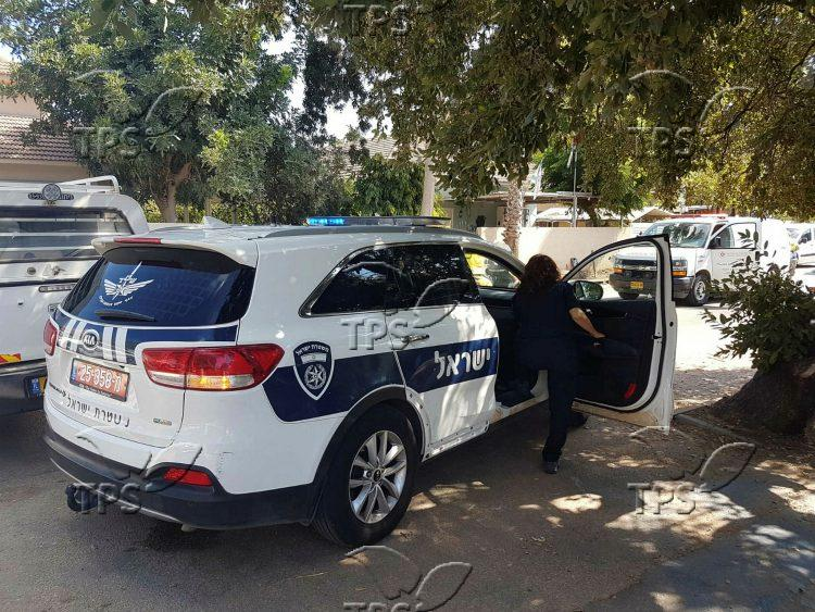 Criminal shooting in Pardes Hanna
