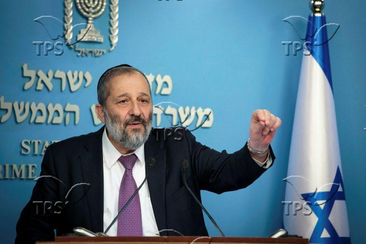Press conference at the Prime Minister's Office