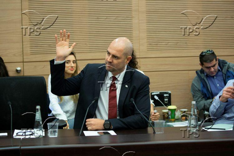 Knesset Committee meets for vote to dissolve parliament