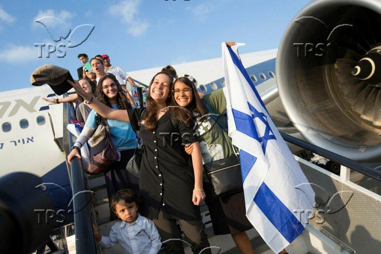 North American New Immigrants Arrived via Nefesh B'Nefesh
