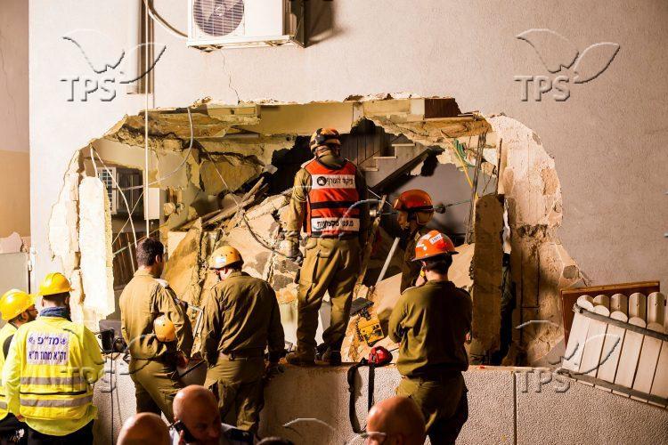 Gas Explosion in Tel Aviv