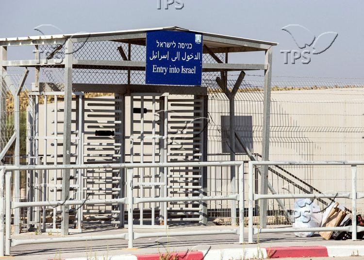 Erez Crossing on the border between Israel and the Gaza Strip