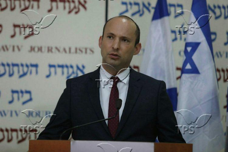 Press conference with Naftali Bennett and Ayelet Shaked