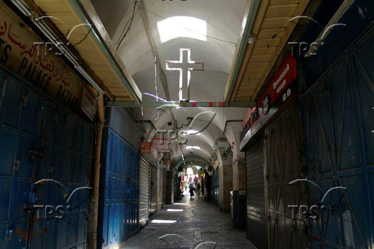 Christian Quarter in the Old City of Jerusalem